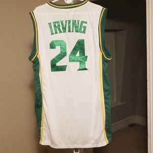 separation shoes 58416 6b23a Kyrie Irving St. Patricks High School Jersey